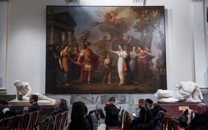 A Brera torna la tela di Paolo Borroni