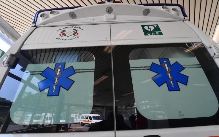 Incidente fra due auto vicino Frosinone, muore bimba di 9 anni