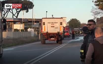 Esplosione distributore a Rieti, indagati anche il gestore e l'autista