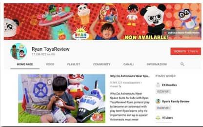 La star più pagata di YouTube ha 7 anni e recensisce giocattoli