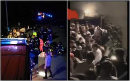 Tragedia Corinaldo, sei morti schiacciati in discoteca. FOTO