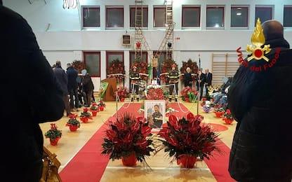 Rieti, domani i funerali del pompiere morto in esplosione distributore