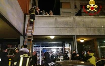 Reggio Emilia, incendio in una palazzina: due morti