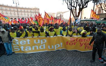 A Roma la manifestazione contro il razzismo. FOTO
