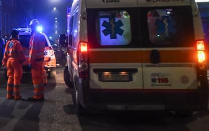 Incidente stradale a Veroli, furgone si ribalta: sette feriti
