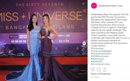 Thailandia, Youtuber critica abito della principessa: rischia condanna