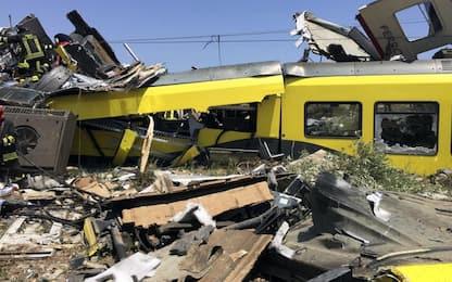 Scontro fra treni in Puglia, 18 rinviati a giudizio. Processo a marzo