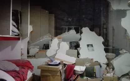 Terremoto Catania, la zona di Zafferana Etnea
