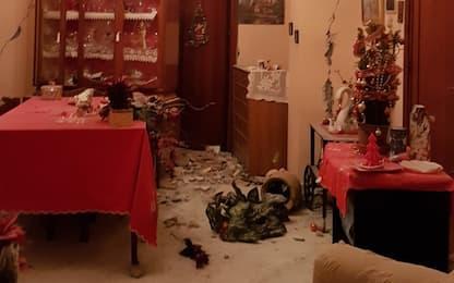 Terremoto nel Catanese, crolla casa a Fleri mentre famiglia dorme