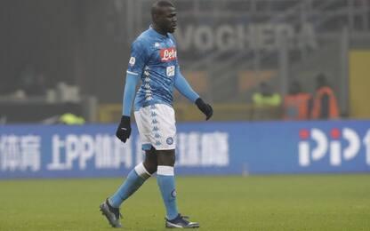 """Inter-Napoli, Koulibaly dopo insulti razzisti: """"Mia pelle un orgoglio"""""""