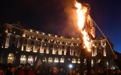 Roma, Ncc: proteste in piazza della Repubblica e a Fiumicino
