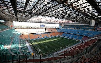 Calcio: per l'Inter due gare a porte chiuse e una senza curva