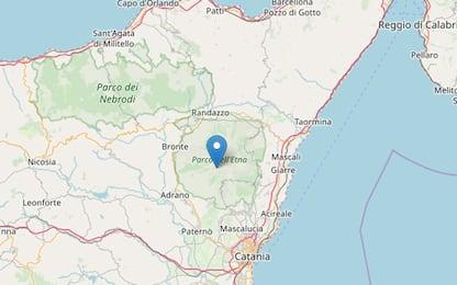 Etna, scossa di terremoto a nord di Ragalna: magnitudo 3.4