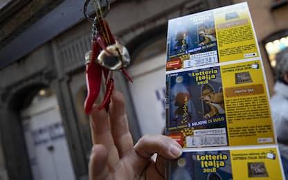 Lotteria Italia, ecco i primi 5 biglietti vincenti: 3 sono in Campania