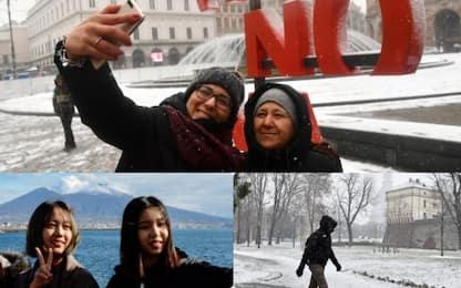 Mezza Italia sotto la neve. FOTO