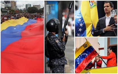 Venezuela, Guaidò si proclama presidente. Maduro:colpo di Stato