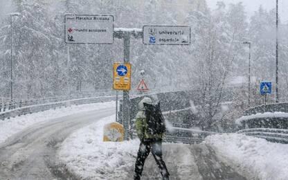 Neve a Potenza, scuole chiuse