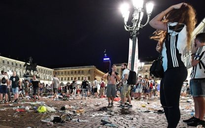 """Piazza San Carlo, il Gup: """"La banda voleva creare scompiglio"""""""