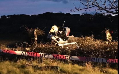 Puglia, ultraleggero precipita nel Salento: morti i due uomini a bordo
