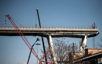 Morandi, al via i lavori di preparazione alla demolizione