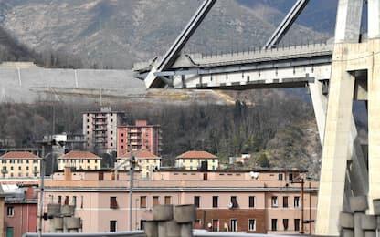 """Ponte Morandi, i periti: """"Difetti esecutivi e poca manutenzione"""""""