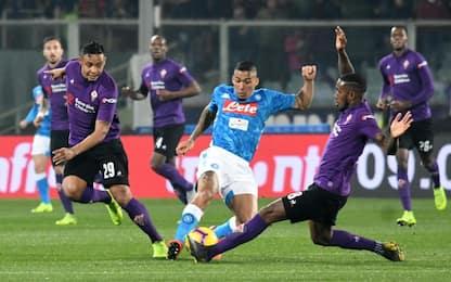 Serie A, Fiorentina-Napoli 0-0: gli highlights