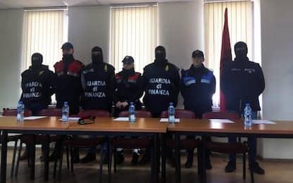 Traffico internazionale di droga, 27 arresti tra Italia e Albania