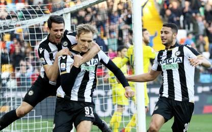 Serie A, Udinese-Chievo 1-0: gol e highlights