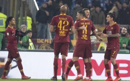 Serie A, Roma-Bologna 2-1: gol e highlights