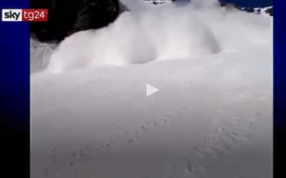 Svizzera, sciatore muore a Crans Montana. IL VIDEO DELLA VALANGA