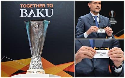 Europa League, sorteggio ottavi: Napoli-Salisburgo e Inter-Eintracht