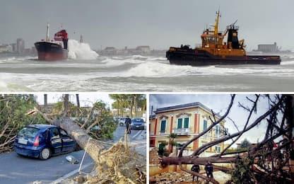 Maltempo, raffiche di vento e gelo. Quattro morti nel Lazio