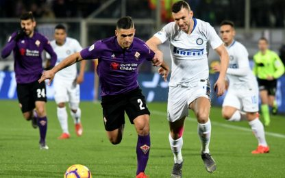 Serie A, Fiorentina-Inter 3-3: gol e highlights