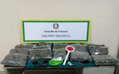 Droga, Messina: cinque arresti per traffico di stupefacenti