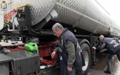 Pomezia, importano olio lubrificante evadendo fisco: sequestrati beni