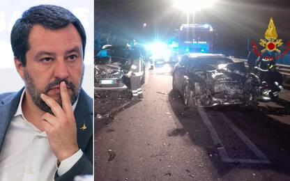 """Incidente Recanati, Salvini: """"Colpevole non doveva stare a spasso"""""""