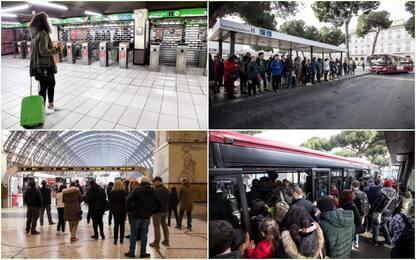 Sciopero generale 8 marzo: disagi nei trasporti