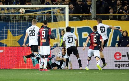 Serie A, Parma-Genoa 1-0: gol e highlights