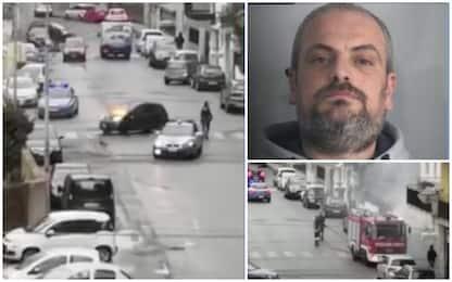 Aveva aggredito e bruciato la ex a Reggio, uomo arrestato. VIDEO