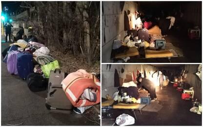 Roma, sottopasso-dormitorio: sgomberate 25 persone