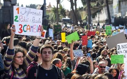 Roma, sciopero del 15 marzo sul clima: le proteste degli studenti