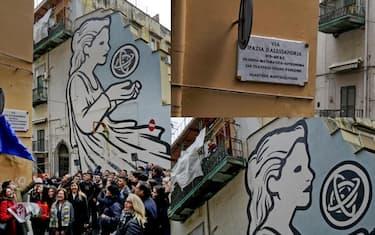 collage_ipazia_alessandria_napoli_ansa