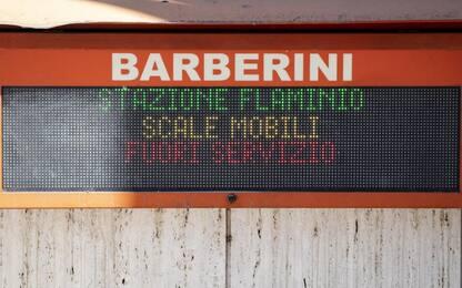 Metro Roma, scala mobile non supera collaudo: Barberini rimane chiusa