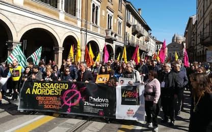 A Padova in 50mila contro le mafie. FOTO