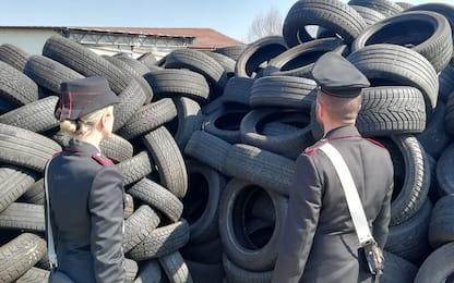 Caselle Torinese, sequestrate 300 tonnellate di rifiuti pericolosi