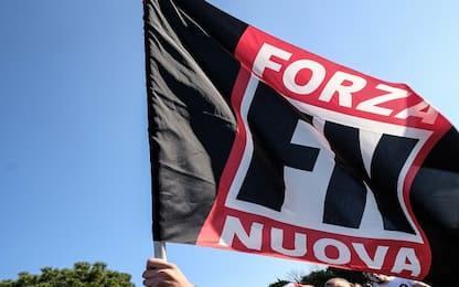 Primo Maggio, blitz di Forza Nuova in piazza San Giovanni a Roma