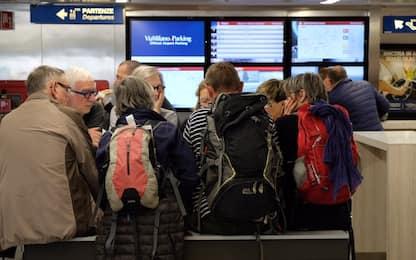 Sciopero trasporto aereo, disagi contenuti a Linate