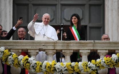 """Il Papa a Roma: """"Città resti maestra di accoglienza e integrazione"""""""