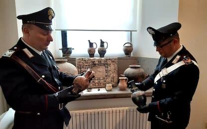 Reperti archeologici da 250mila euro in una villa di Trevignano Romano
