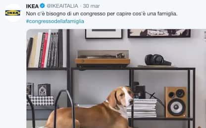 """Congresso Verona, spot Ikea: """"Famiglia è chi ti fa sentire a casa''"""